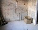 Badkamer voor werkzaamheden