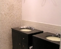 Badkamer tijdens werkzaamheden