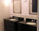 Badkamer na werkzaamheden